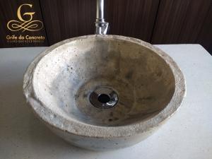 Cuba de apoio para banheiro Craft Stone 4