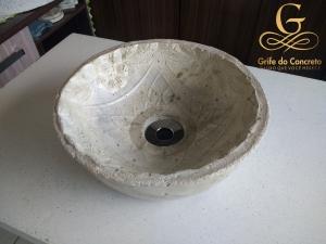 Cuba de apoio para Banheiro Craft Stone 7
