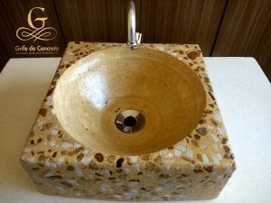Cuba Quadrada para Banheiro / Lavabo