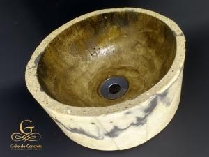 Cuba de apoio para Banheiro Craft Stone 8