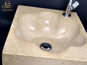Pia de Apoio para banheiro - Rustico